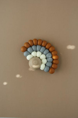 Silicone + Wood Rainbow Toy - Charri