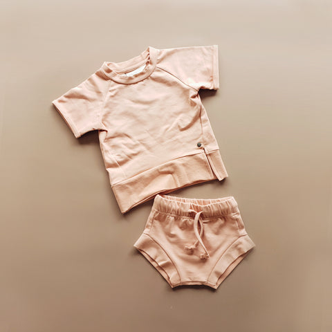 Play Wear Set - Pale Salmon