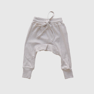 Fawn Stripe Harem Pants