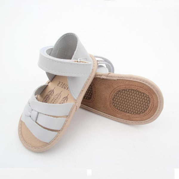 The Rome Sandal - Dove Gray