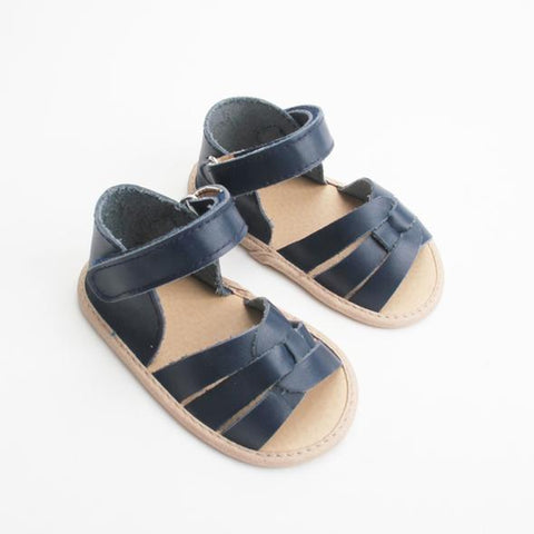 The Rome Sandal - Navy