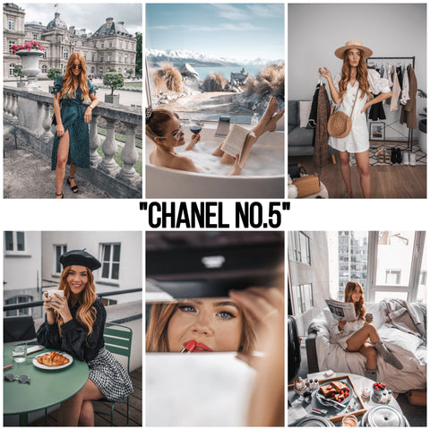 """CHANEL No. 5"" (LIGHTROOM MOBILE)"