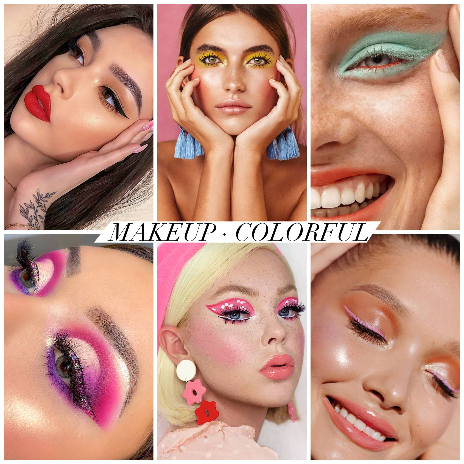 "MAKE UP ""COLORFUL"""