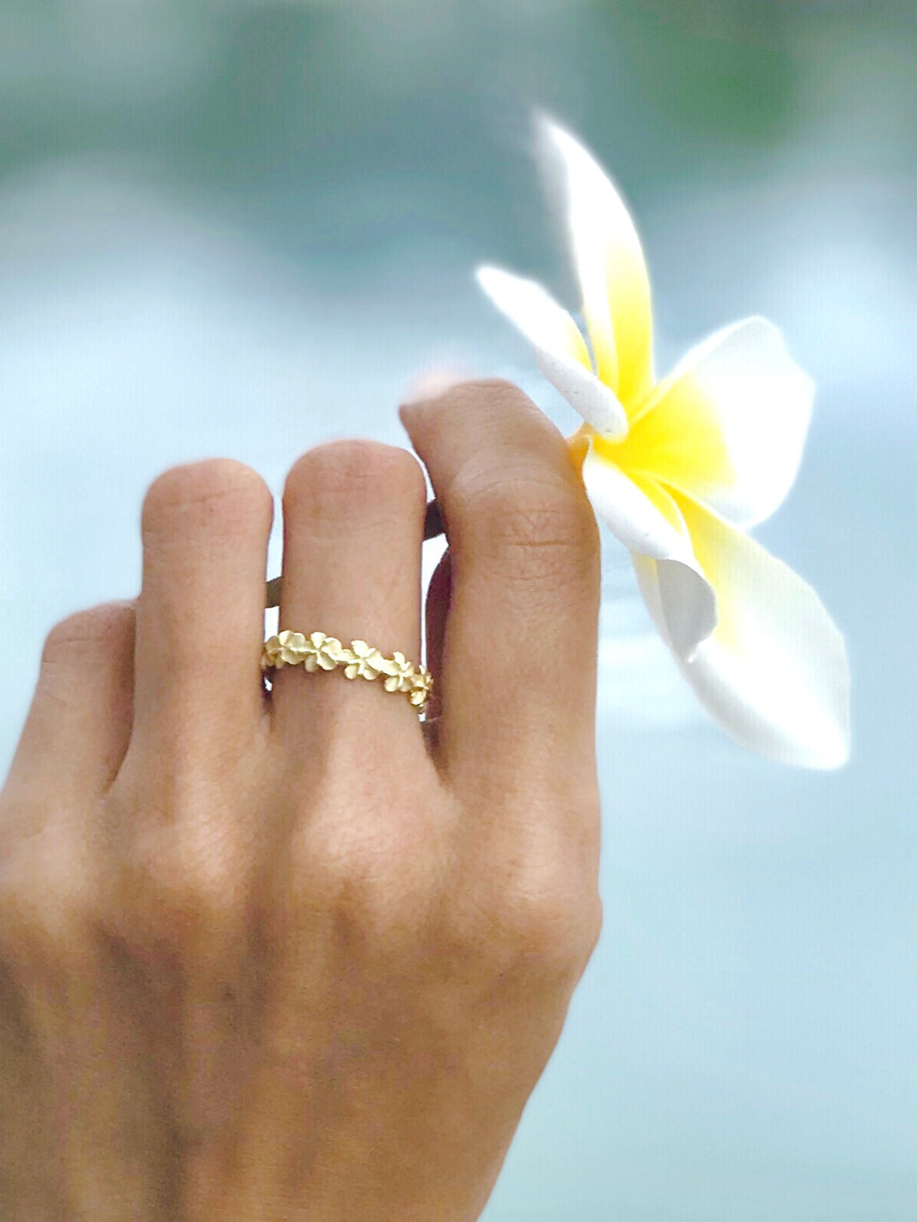 Hawaiian Lei Ring