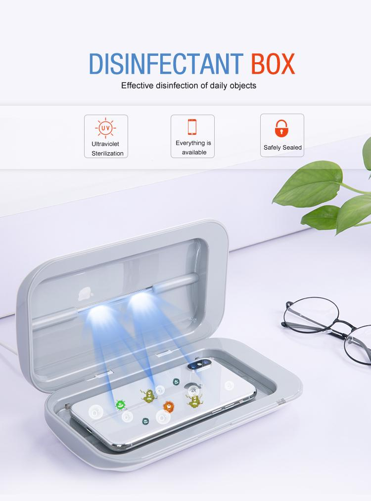 UV Light Phone Sterilizer - CleanVirus