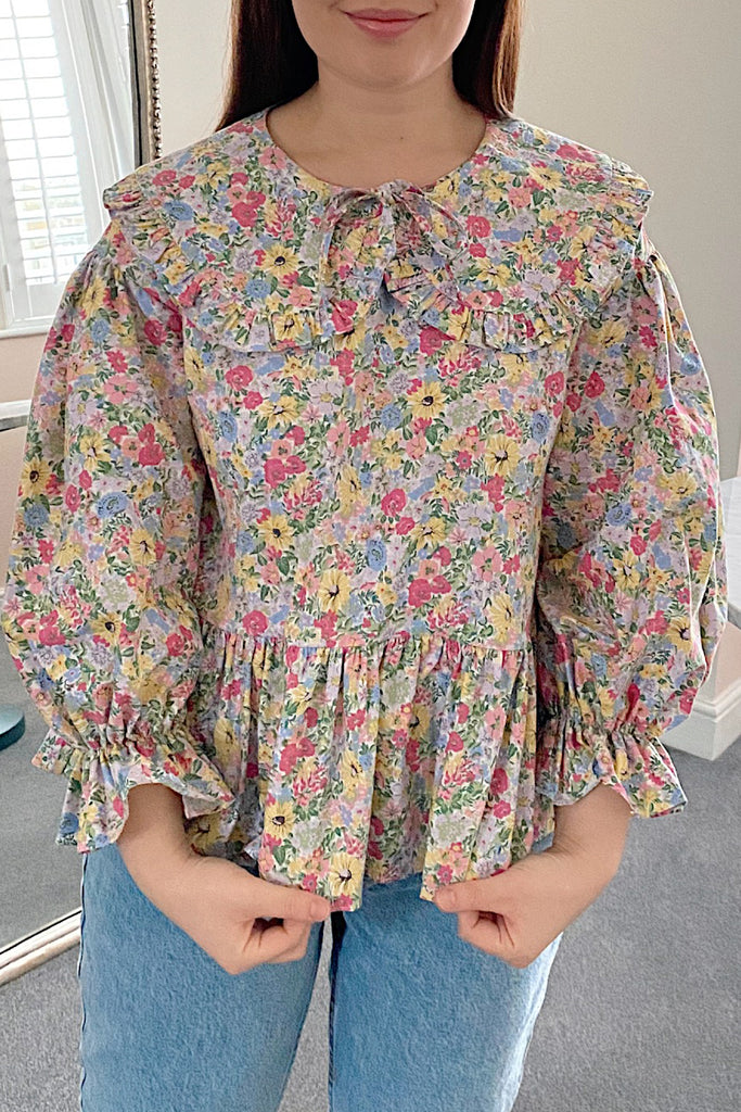Fleur Blouse- Malvern Meadow Yellow