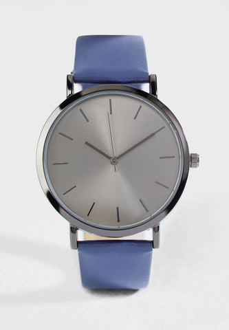 ROBERT WOOD Silver Case Analogue Watch