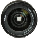 Canon EF 24mm f/2.8 IS USM Autofocus Lens