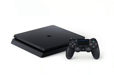 Sony PlayStation 4 500GB Slim Console with 2 Dual Shock4 Wireless Controllers - Black