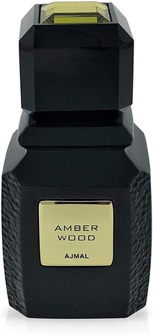 Amber Wood Eau De Parfum Spray Unisex 100 ml by Ajmal