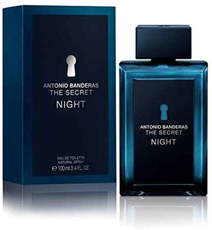 The Secret Night Cologne By ANTONIO BANDERAS EDT 100ml