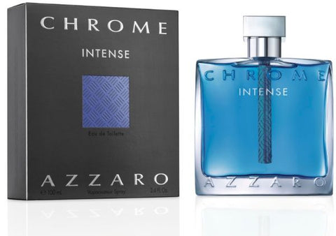 Azzaro Chrome Intense EDT 100 ML (3.4oz) Men Perfume