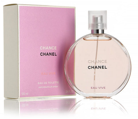 Chance Eau Vive by Chanel for Women - Eau de Toilette, 100ml