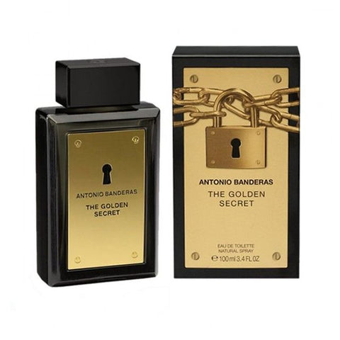 The Golden Secret by Antonio Banderas for Men - Eau de Toilette, 100ml