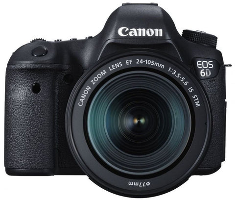 Canon EOS 6D Mark II + EF 24-70mm f/4L IS USM Lens