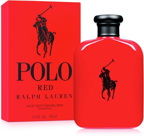 Polo Red Cologne By RALPH LAUREN EDT 125ml