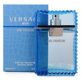 Versace Man Eau Fraiche by Versace for Men - Eau de Toilette 50ml,