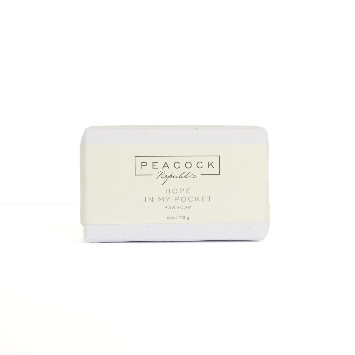 Hope In My Pocket Face & Body Bar Soap