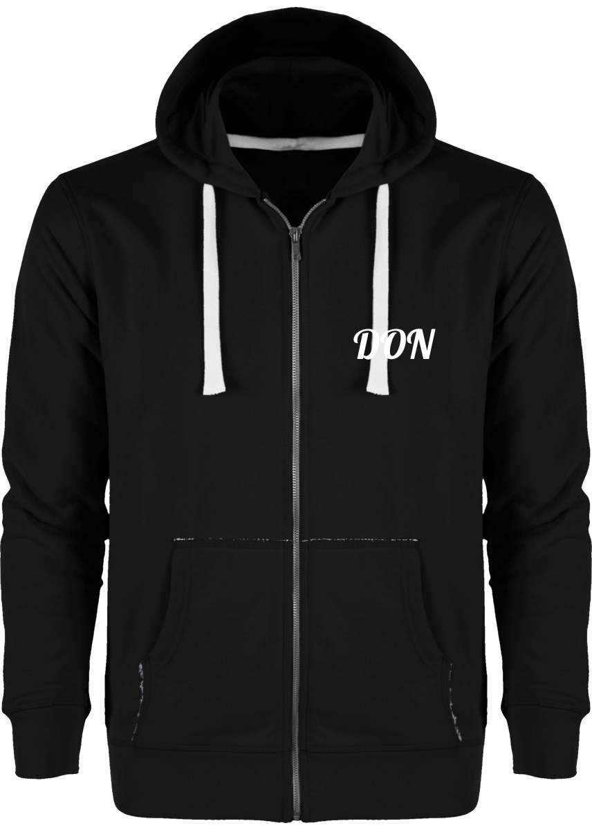 Mens Official Don Jacket/hoodie - Black / Xs - Homme>Sweatshirts