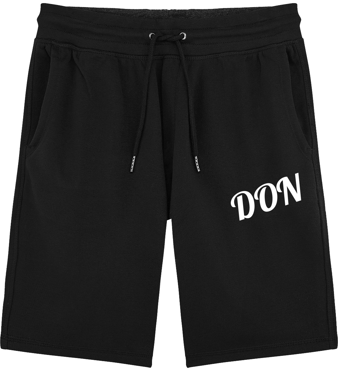 Official Don Mens Jogging Shorts - Black / S - Homme>Vêtements De Sport