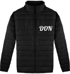 Mens Official Don Bomber Jacket - Black / S - Homme>Vestes & Manteaux
