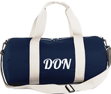 Official Don Duffle Bag - French Navy / Off White / Tu