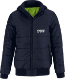 Official Don Superhood Bomber Jacket - Navy / Neon Green Lining / S - Homme>Vestes & Manteaux