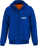 Official Don Superhood Bomber Jacket - Royal Blue / Neon Orange Lining / S - Homme>Vestes & Manteaux
