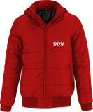 Official Don Superhood Bomber Jacket - Red / Black Lining / S - Homme>Vestes & Manteaux