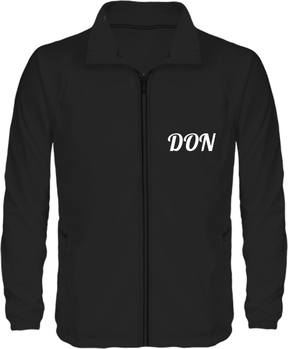 Official Don Lightweight Track Jacket - Black / Xs - Homme>Vêtements De Sport