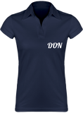 Womens Official Don Lightweight Polo-Shirt - Navy / S - Femme>Polos