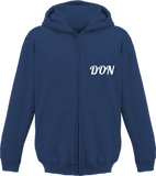 Official Don Zipped Hoodie- Kids - New French Navy / 3/4 Ans - Enfant & Bébé>Sweatshirts