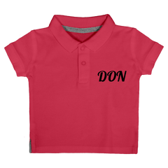 Official Don Polo-Shirt - Baby - Fuchsia / 3 Mois - Enfant & Bébé>Polos