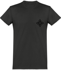 Mens Official Don Signature Plain T-Shirt - Dark Grey / Xs - Homme>Tee-Shirts