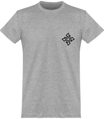 Mens Official Don Signature Plain T-Shirt - Sport Grey / Xs - Homme>Tee-Shirts