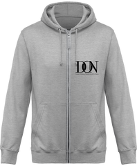Mens Official Don Signature Jacket - Heather Grey / S - Homme>Sweatshirts