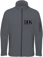 Mens Official Don Signature Soft-Shell Jacket - Titanium / S - Homme>Vestes & Manteaux