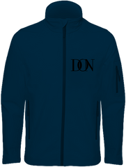 Mens Official Don Signature Soft-Shell Jacket - Navy / S - Homme>Vestes & Manteaux