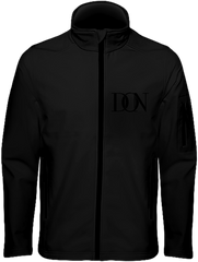Mens Official Don Signature Soft-Shell Jacket - Black / S - Homme>Vestes & Manteaux