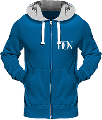 Mens Official Don Heavyweight Signature Jacket - Sapphire Blue / S - Homme>Sweatshirts