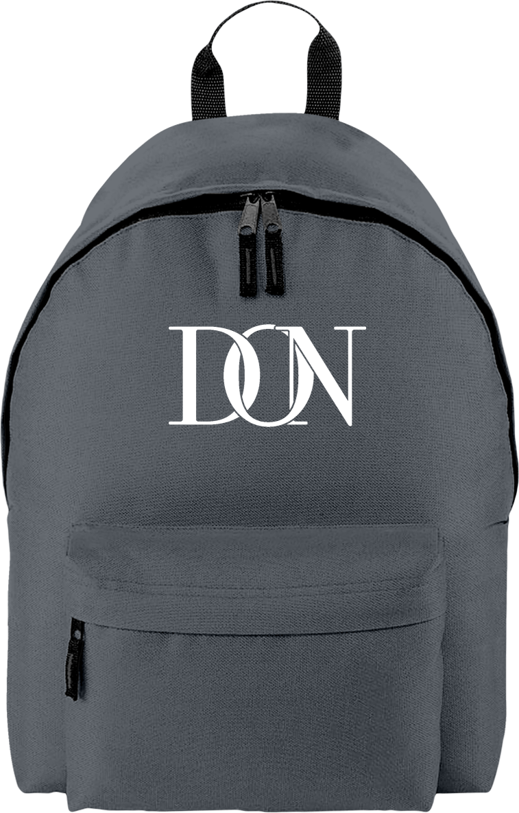 Mens Official Don Signature Original Backpack - Graphite Grey / Tu - Accessoires & Casquettes>Sacs