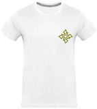 Mens Official Don Gold-Logo T-Shirt - White / S - Homme>Tee-Shirts