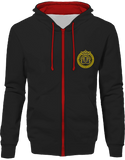 Mens Official Don Lions Pride Two-Tone Jacket - Jet Black / Fire Red / S - Unisexe>Sweatshirts