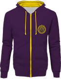 Mens Official Don Lions Pride Two-Tone Jacket - Purple / Sun Yellow / S - Unisexe>Sweatshirts