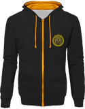 Mens Official Don Lions Pride Two-Tone Jacket - Jet Black / Gold / S - Unisexe>Sweatshirts