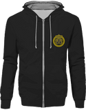 Mens Official Don Lions Pride Two-Tone Jacket - Jet Black / Heather Grey / S - Unisexe>Sweatshirts