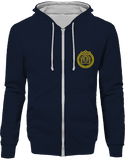 Mens Official Don Lions Pride Two-Tone Jacket - New French Navy / Heather Grey / S - Unisexe>Sweatshirts