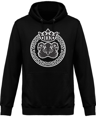 Mens Official Don Lions Pride Hoodie - Jet Black / Xs - Homme>Sweatshirts