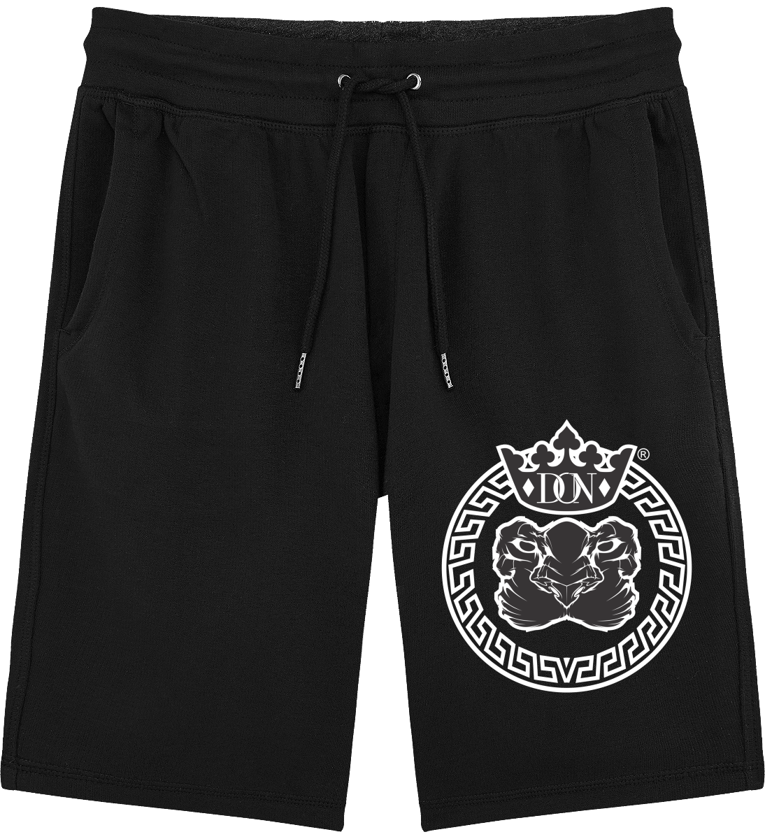 Mens Official Don Lions Pride Shorts - Black / S - Homme>Vêtements De Sport