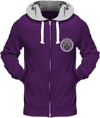 Mens Official Don Lions Pride Chunky Hoodie - Purple / S - Homme>Sweatshirts